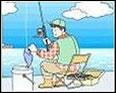 魚釣りで釣った魚を入れる容器として